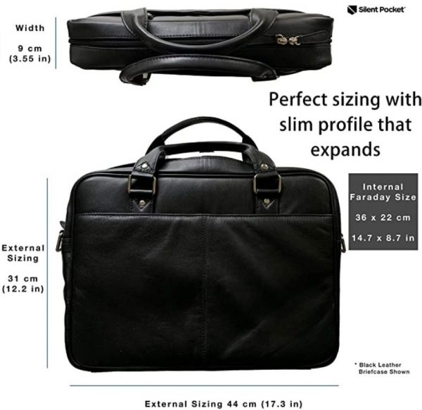 RF shielding business bag