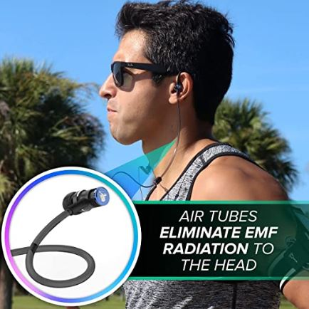 do airtubes eliminate emf radiation